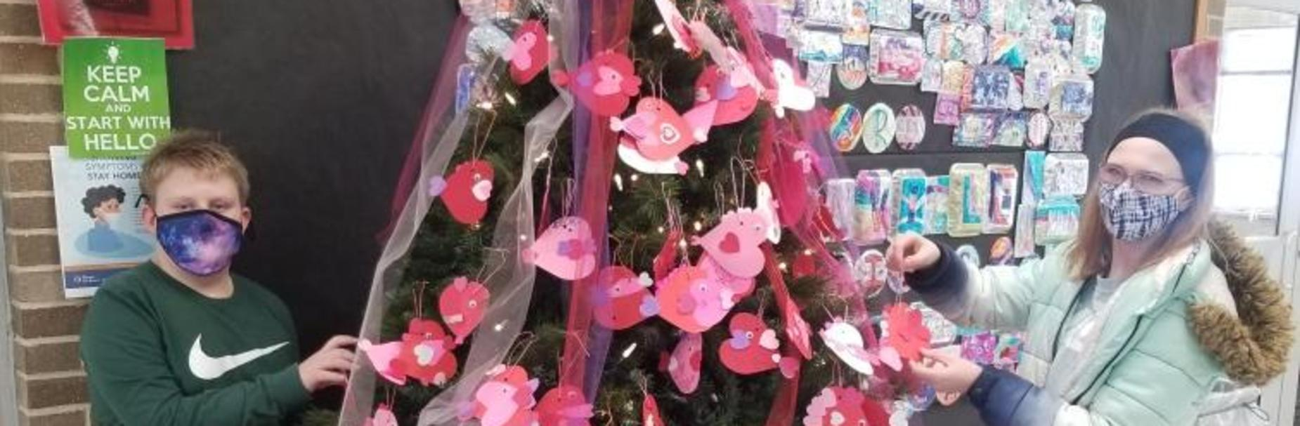 CIS Valentine Tree