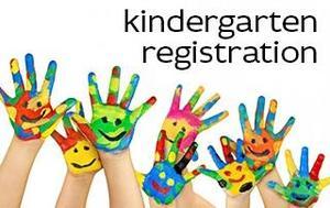 Picture of Kindergarten painted hands