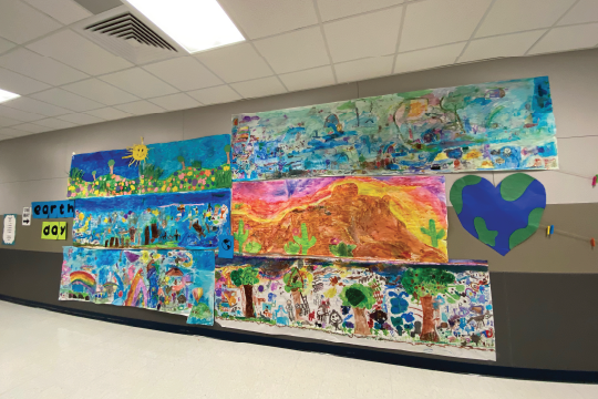 Upland Heights mural