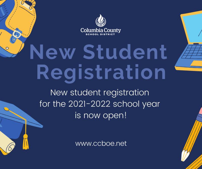 New student registration link