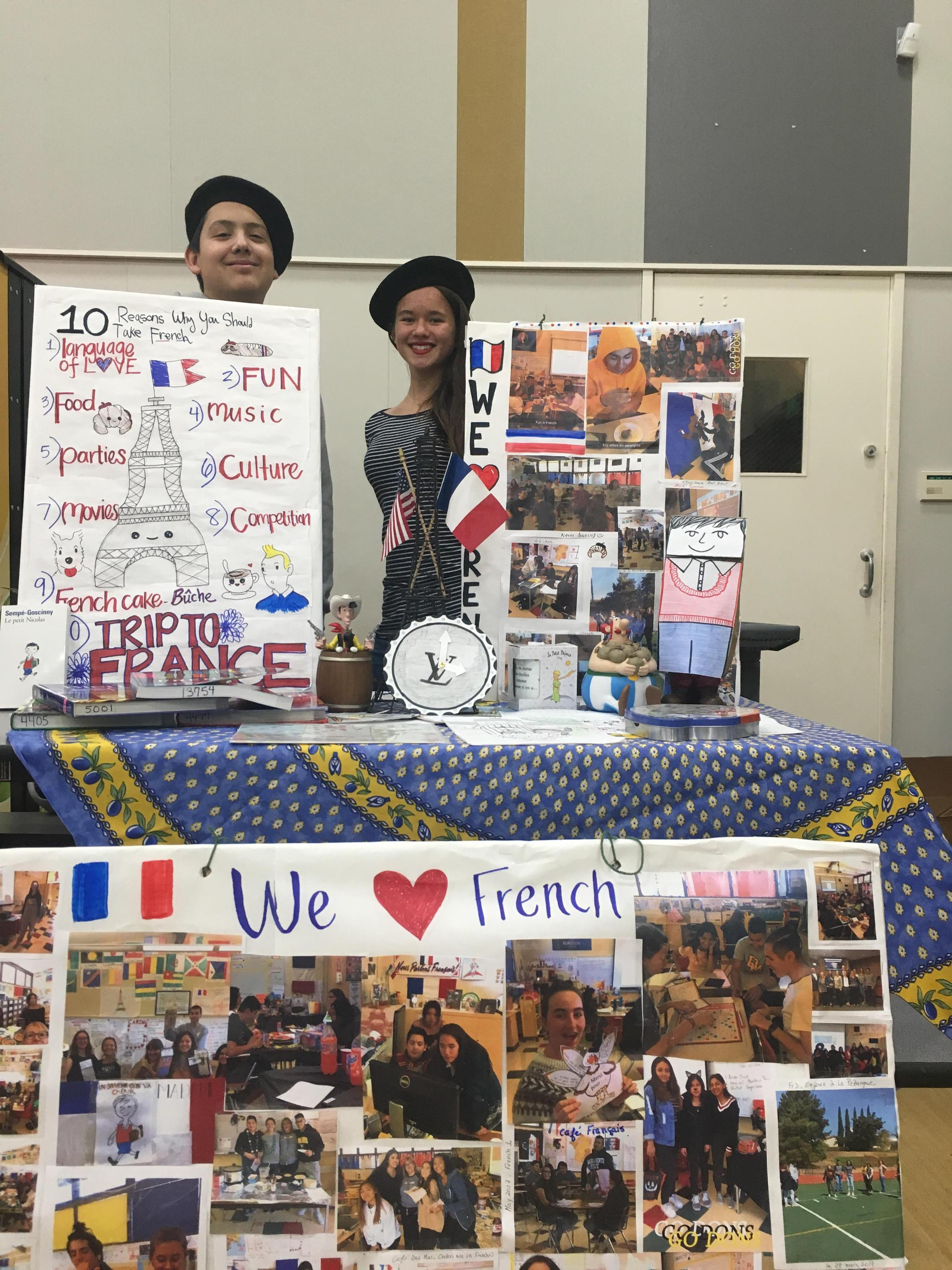 Image of French project