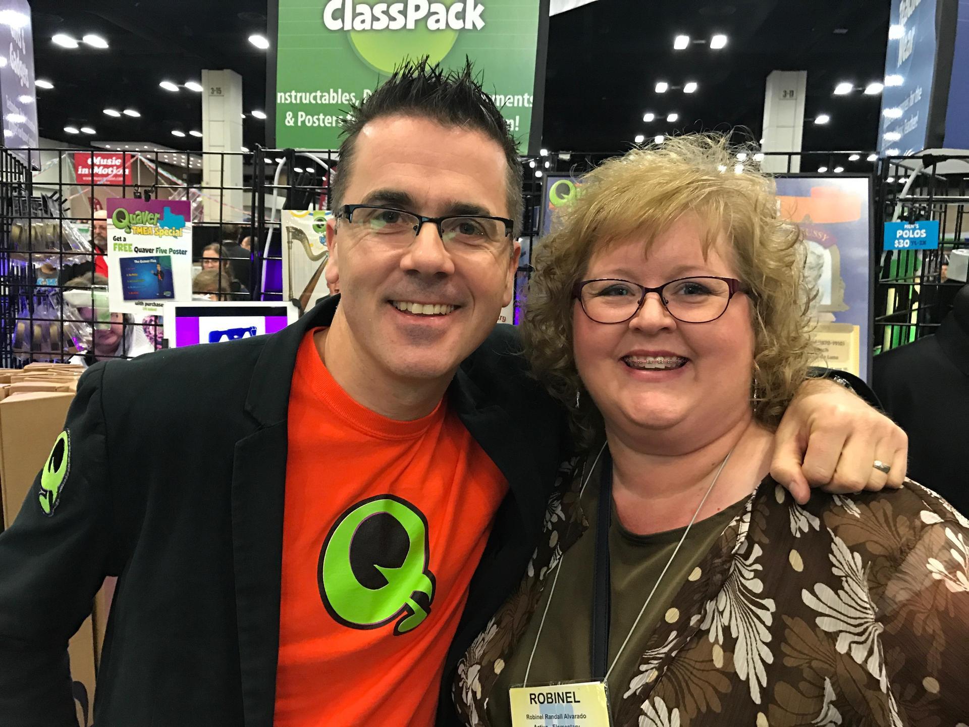 me and Quaver man