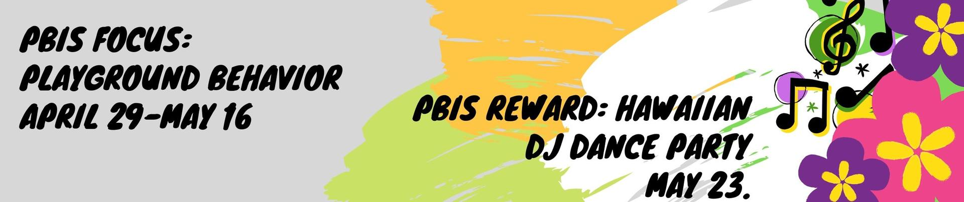 PBIS Reward Information