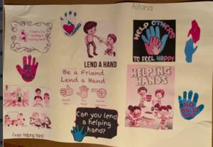 Aitana's anti-bullying poster