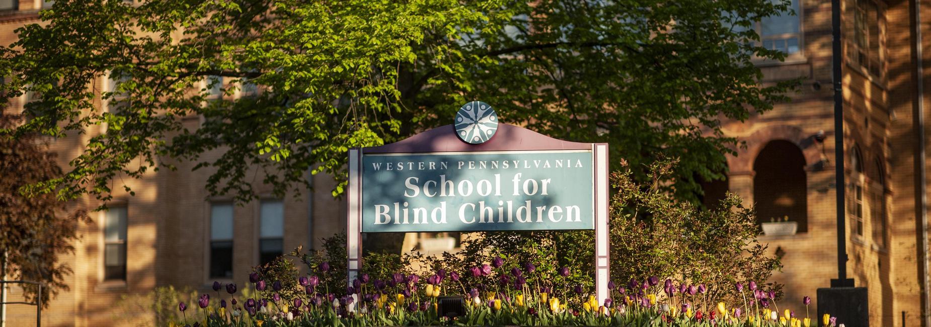 Photo of the Western Pennsylvania School for Blind Children