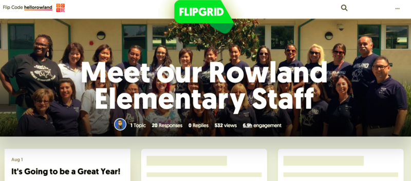 NEW VIDEOS! 🍿🎬😊 Meet the Rowland Elementary staff! Featured Photo