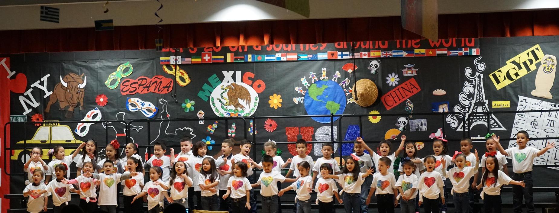 Pre-K Students Choir Performance