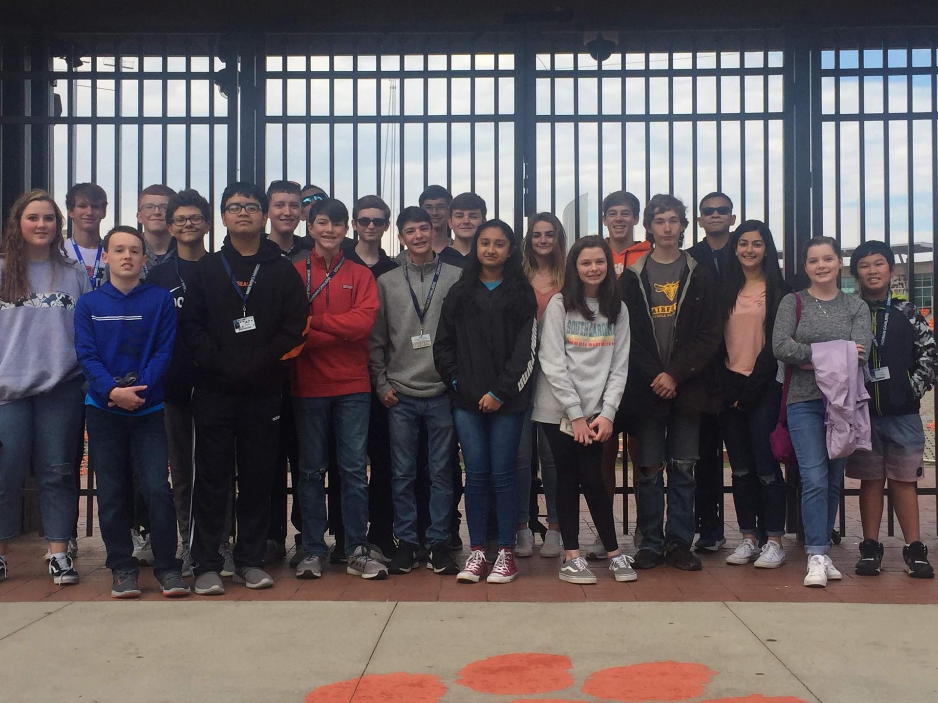 Clemson Engineering Field Trip 2019
