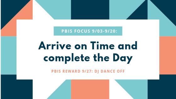 PBIS Focus Reminder