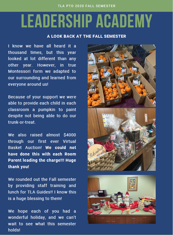 Fall Newsletter Featured Photo