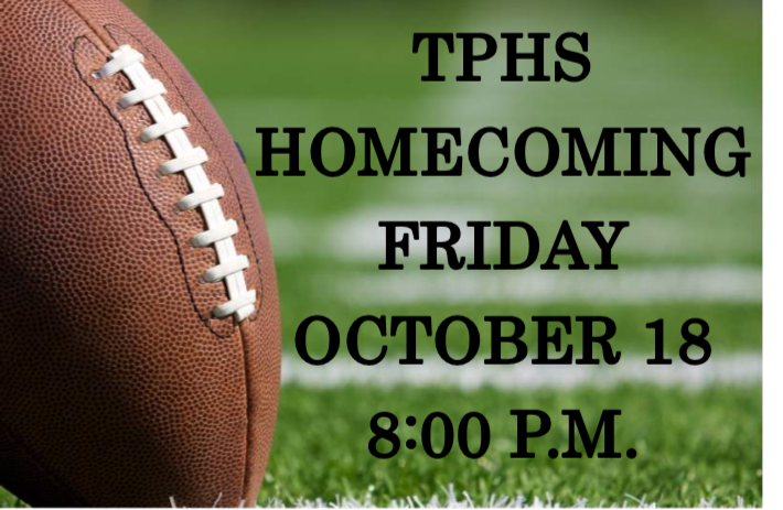 FOOTBALL HOMECOMING ANNOUNCEMENT