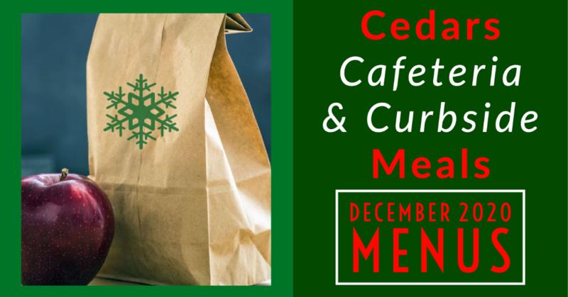 December 2020 Cafeteria Menus