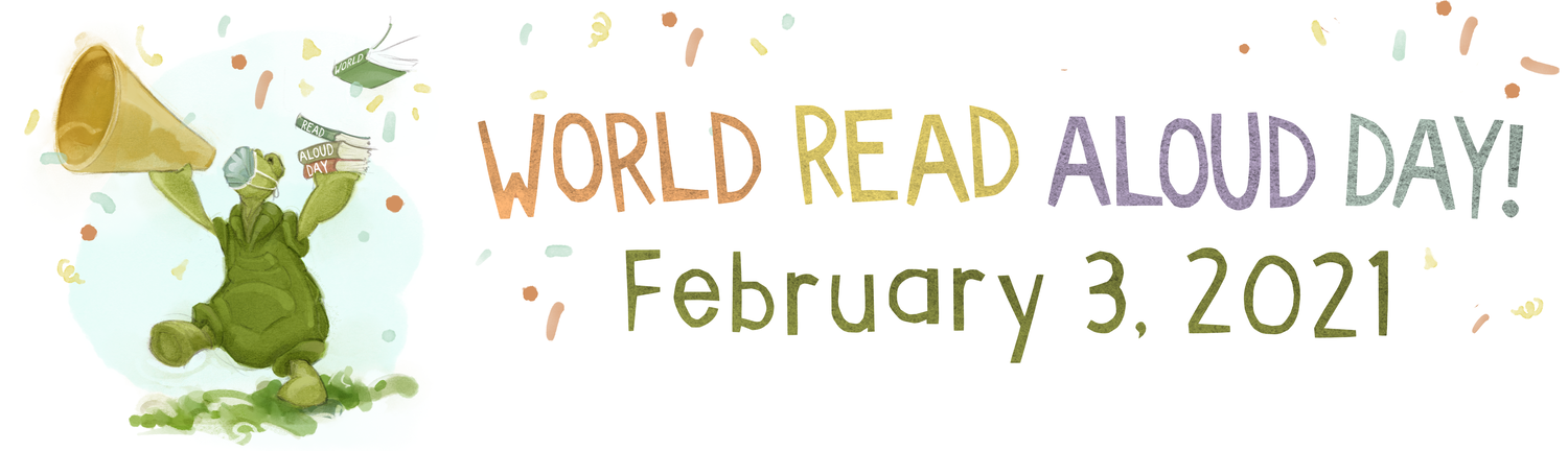 World Read Aloud Day banner