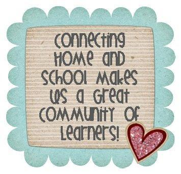 Connecting home and school makes us a great community of learners!