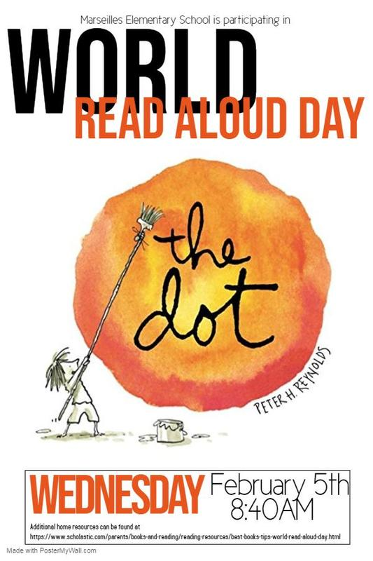 World Read Aloud Day Feb. 5th Featured Photo
