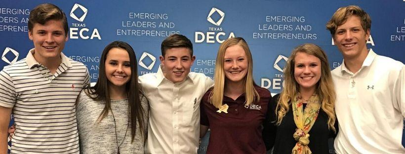 deca students pose