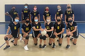 Middle School Volleyball Lady Cats