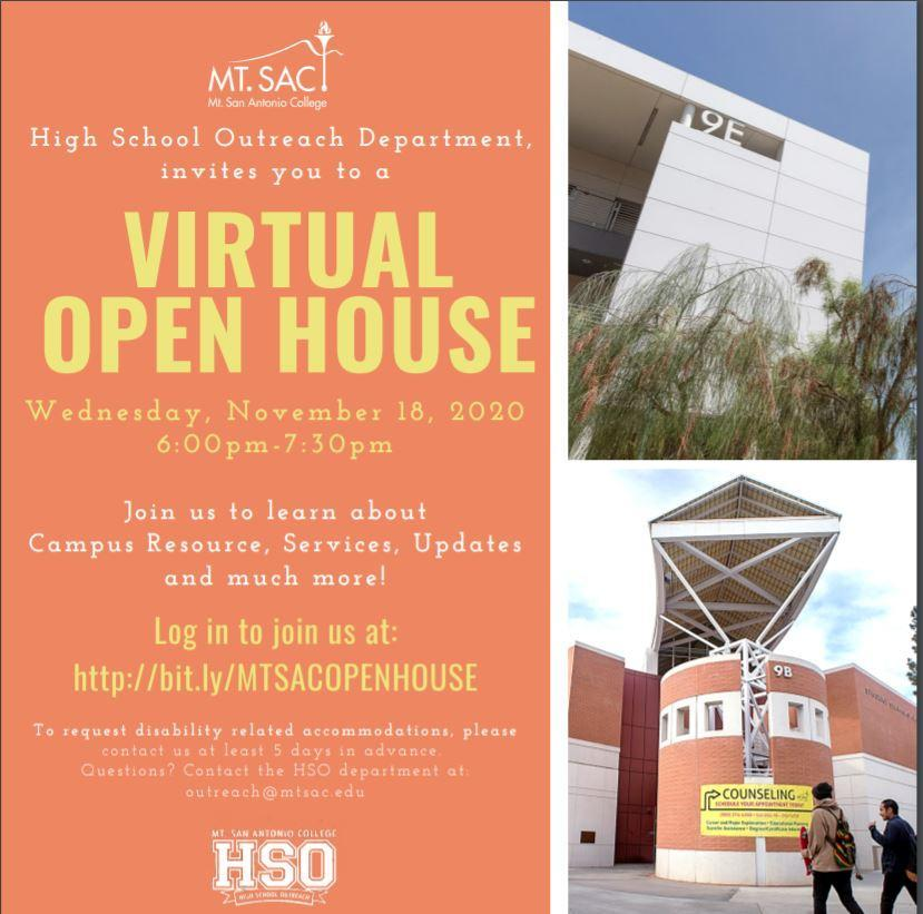 Mt. SAC Open House