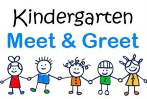 image of stick figures holding hands - Kindergraten Meet and Greet