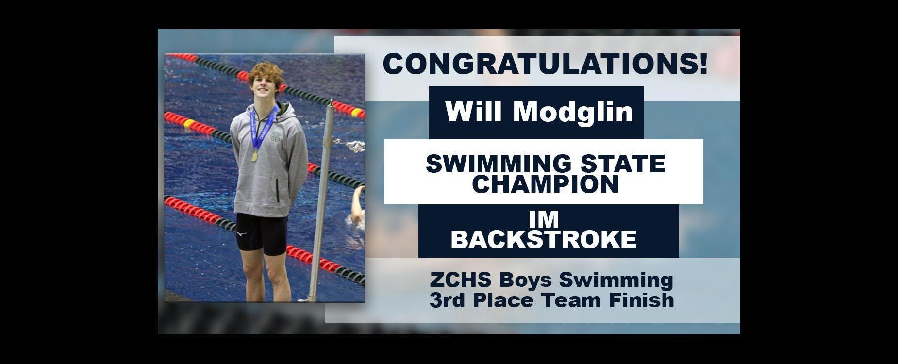 swimming state champ