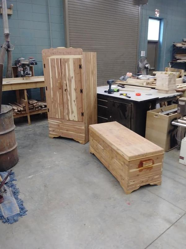 Saxton's new furniture pieces