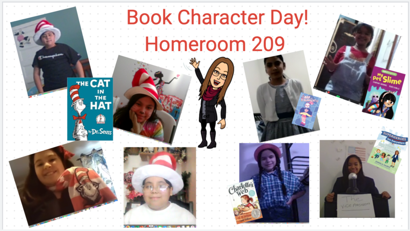 Book Character day collage