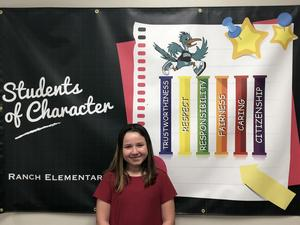 Bella Davis - Student of the Month