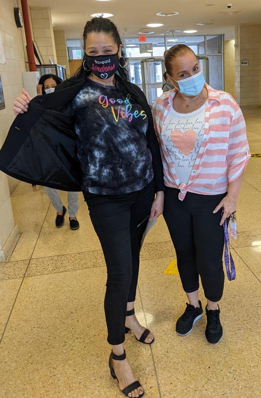 Ada and Ms. Troche