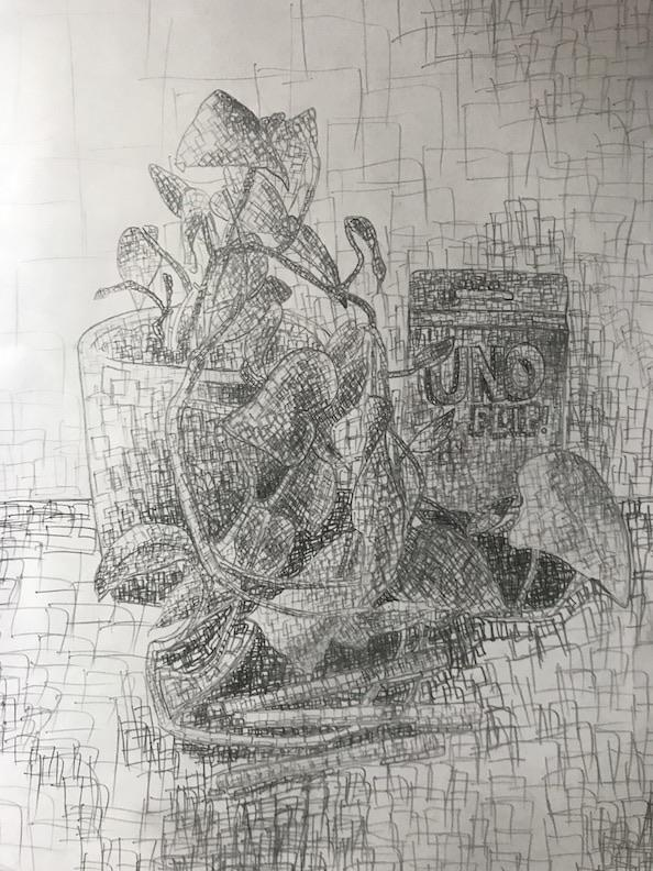 Textured Value Drawing 11
