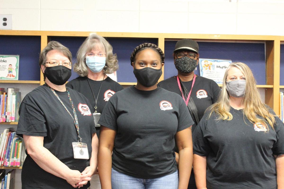 EIP team masked up!