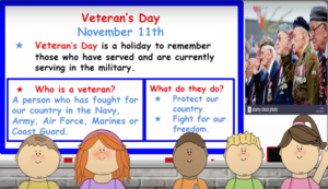 Veterans' day description