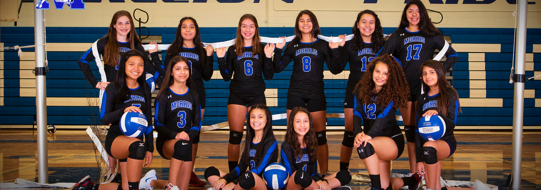 7th Grade Dark Volleyball -- District Champions