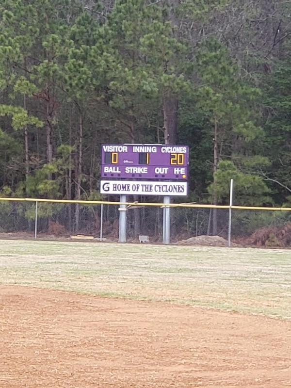 Baseball Scoreboard is ready for the spring season! Thumbnail Image