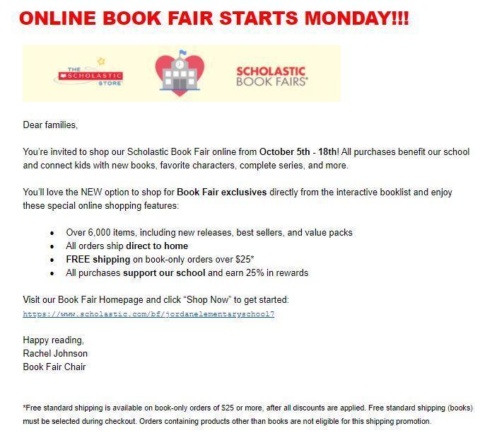 Scholastic Bookfair online