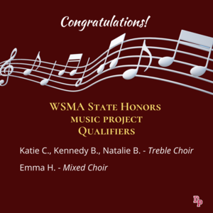state honors choir