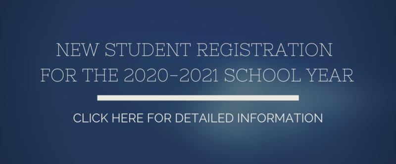 new student reg