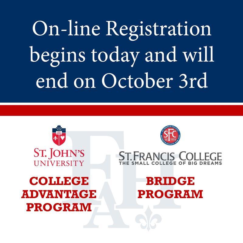 Online Registration Now Open for College Bridge Programs! Thumbnail Image