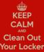 Locker cleanout