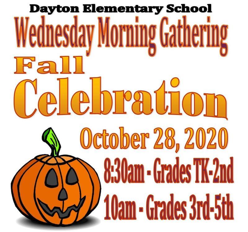 Wednesday Morning Gathering - Fall Celebration! Featured Photo