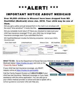 Medicaid Alert