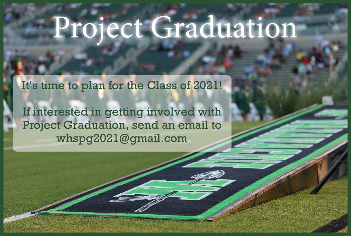 project graduation info available via email at whspg2021@gmail.com