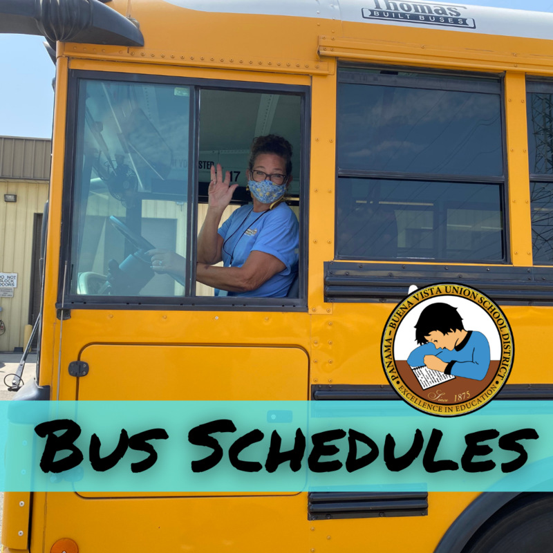 Bus Schedules for 2021-2022 School Year Featured Photo