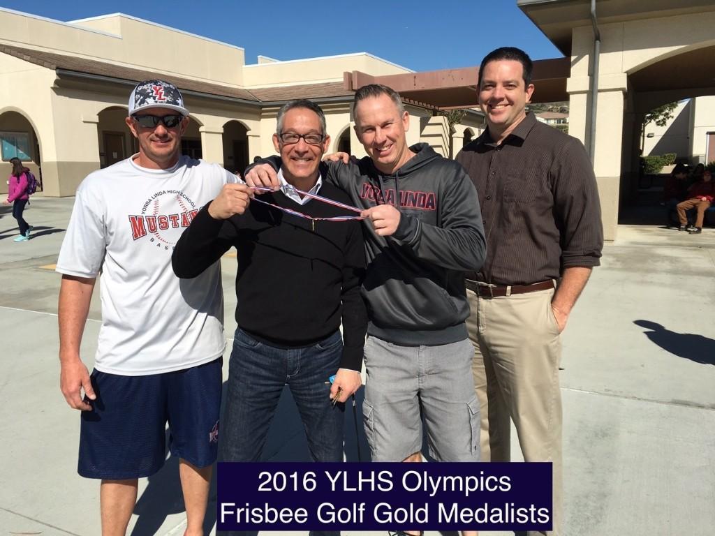 YLHS olympics frisbee golf