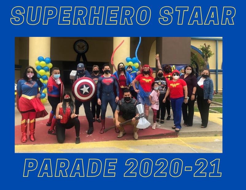 Superhero STAAR Parade! Thumbnail Image