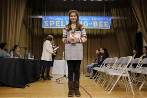 3rd place, Andrea Diaz from Allison
