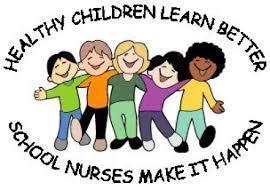 children in group saying children learn better school nurses make it happen