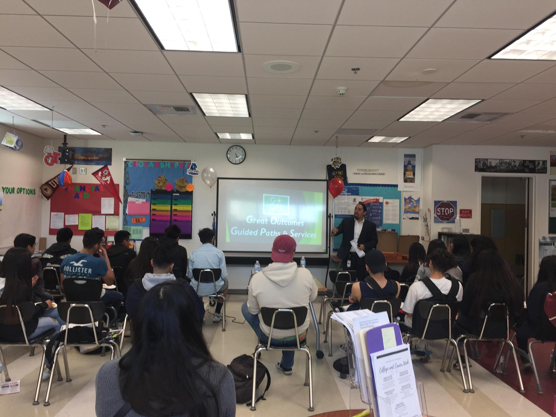 Guest Speaker (Inspiring Students)