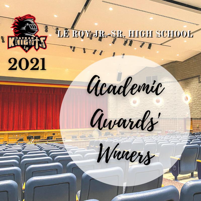 2021 Academic Awards' Winners