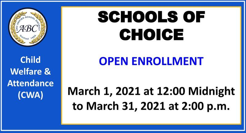 schools of choice open enrollment photo
