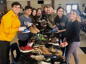 Shoe Drive Volunteers 2020